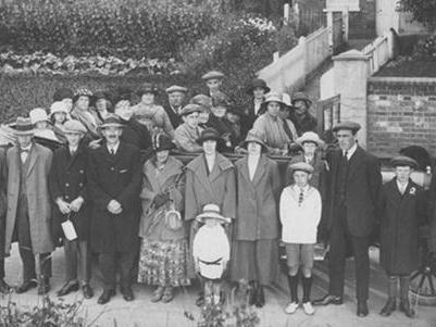 1924 Walkern charabanc trip