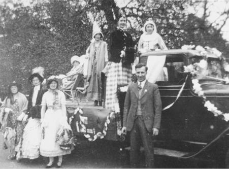 Walkern jubilee celebrations, 1935