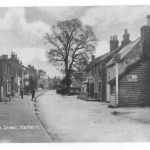 High Street looking north Three Horseshoes on right 3
