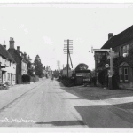 High Street looking north Yew Tree on right