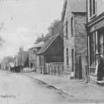 High Street north near Kitcheners looking south. 1907 postmark