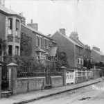 High Street south looking north dated 1925 on back a