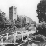 St Marys Walkern from the ford