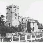 St Marys Walkern from Bridgefoot field