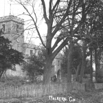 St Marys Walkern note children in lower rhs