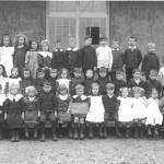 School class, Walkern 1912