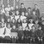 School class, Walkern 1920 2