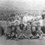 School class, Walkern, 1926 or 1927