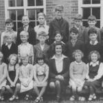 School class, Walkern 1970s