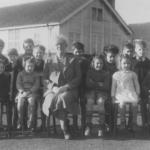 School class, Walkern Juniors with Miss Savage