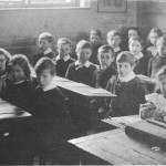 School class, Walkern about 1910