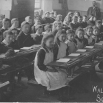 School class, Walkern, about 1910 2