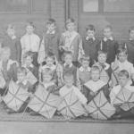 School class, Walkern abt 1902
