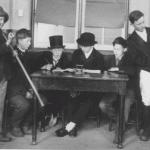 School play, Walkern, Tim Carter far right