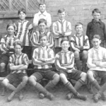 School team, Walkern, about 1920