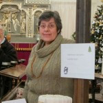 Eleanor and her Christmas cake raffle
