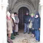 2013 03 24 Committee members brave the cold for a walkabout 04