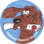 2013 06 27 Walkern History Society History Hound badge