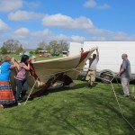 2013 May 5th assembling tents  at Walkern Fair John Pearson 088