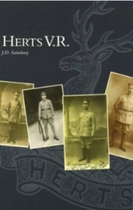Herts VR: An Account of the Hertfordshire Volunteer Regiment, 1914-1921: JD Sainsbury (Author)