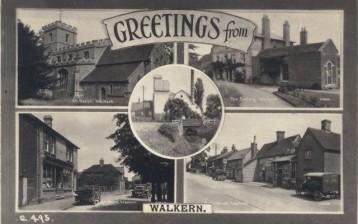 Greetings from Walkern