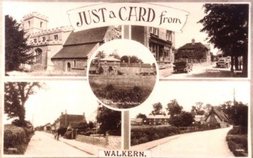 Just a card from Walkern