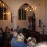 WHS meeting at St Mary's 31 May 2012. Speaker, Peter Sinclair