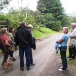 Walkern walk with Alan Hickman, 25th August 2012