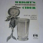 Wright's Cider Label - 'show & tell' 26 April 2012