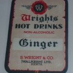 Wright's Ginger Label - 'show & tell' 26 April 2012