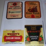 Wright's Labels - 'show & tell' 26 April 2012