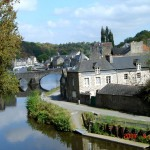 Lanvallay, port of Dinan