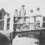 Swain family on Bockings bridge