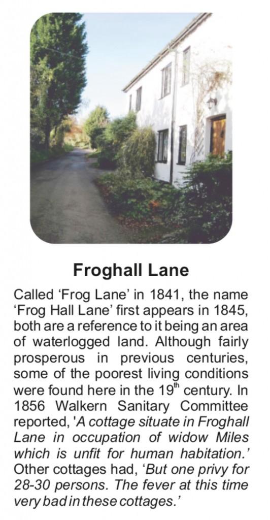 Board D Froghall lane