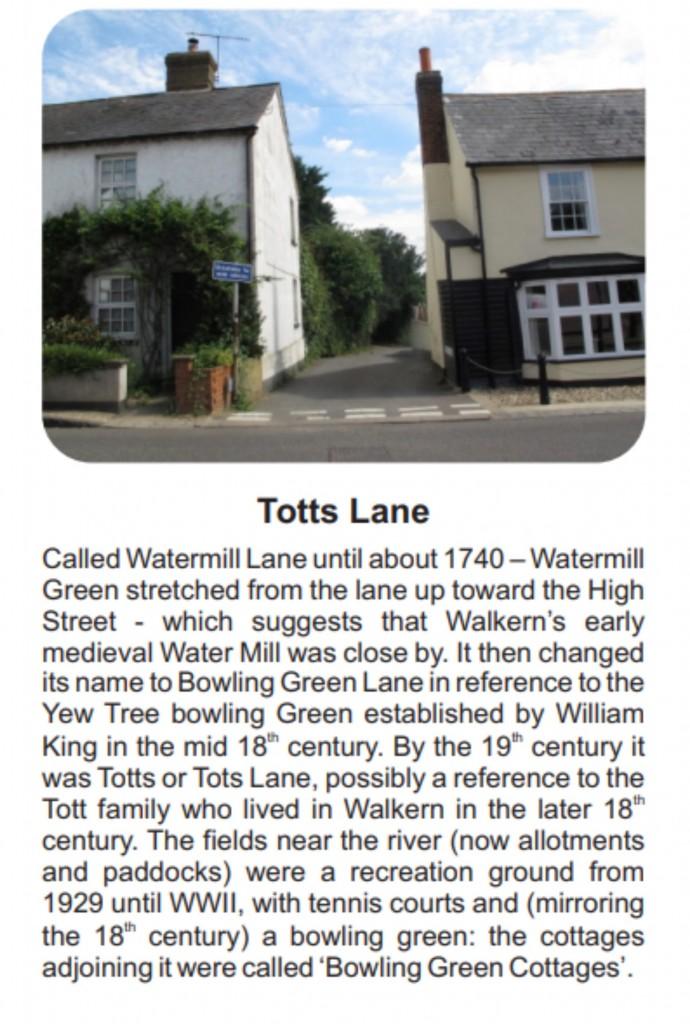 Board D Totts lane
