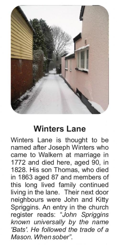 Board D Winters lane