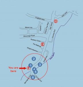 Board F Walkern History Trail map 2