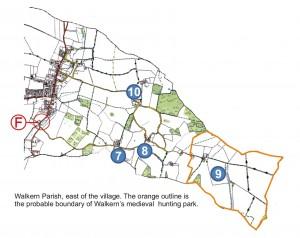 East of Walkern parish