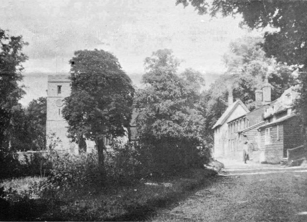 Bockings cottages in about 1910