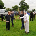 2014 06 03 Walkern longbow archers 05