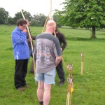 2014 06 03 Walkern longbow archers 10