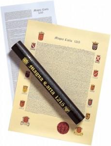 Magna Carta 1215 poster