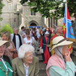 03 procession to Walkern Magna Carta Fair 27 06 2015 Roy Wareham 2