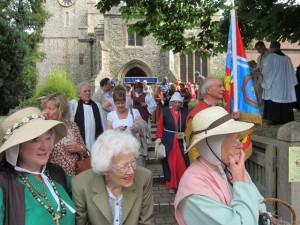03 procession to Walkern Magna Carta Fair 27 06 2015 Roy Wareham 2