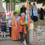 03 procession to Walkern Magna Carta Fair 27 06 2015 Roy Wareham 3