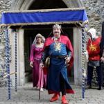 03 procession to Walkern Magna Carta Fair Peter Ravilious 01