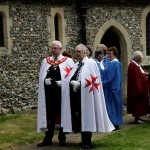 03 procession to Walkern Magna Carta Fair Peter Ravilious 03