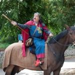 03 procession to Walkern Magna Carta Fair Peter Ravilious 05