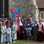 03 procession to Walkern Magna Carta Fair Peter Ravilious 06
