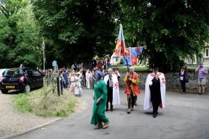 03 procession to Walkern Magna Carta Fair Peter Ravilious 08